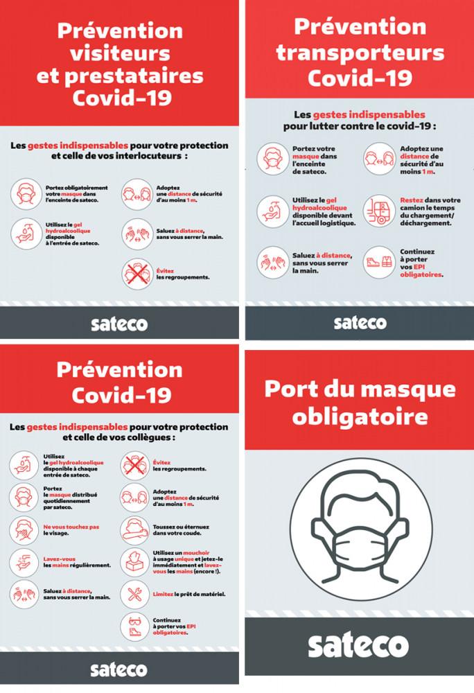 Campagne sécurité BTP COVID19 Sateco