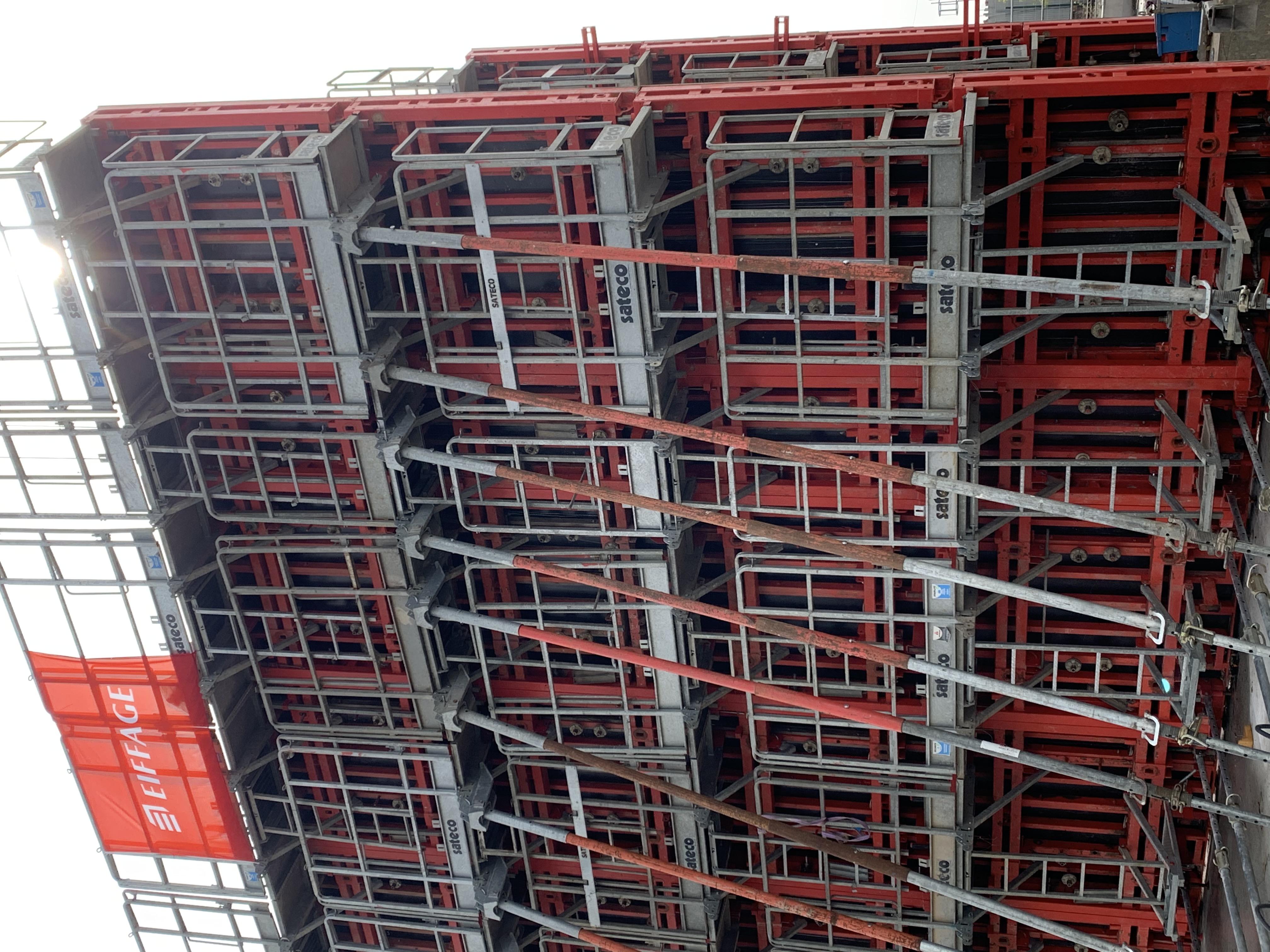 Banche TPC SATECO sur le chantier Eiffage
