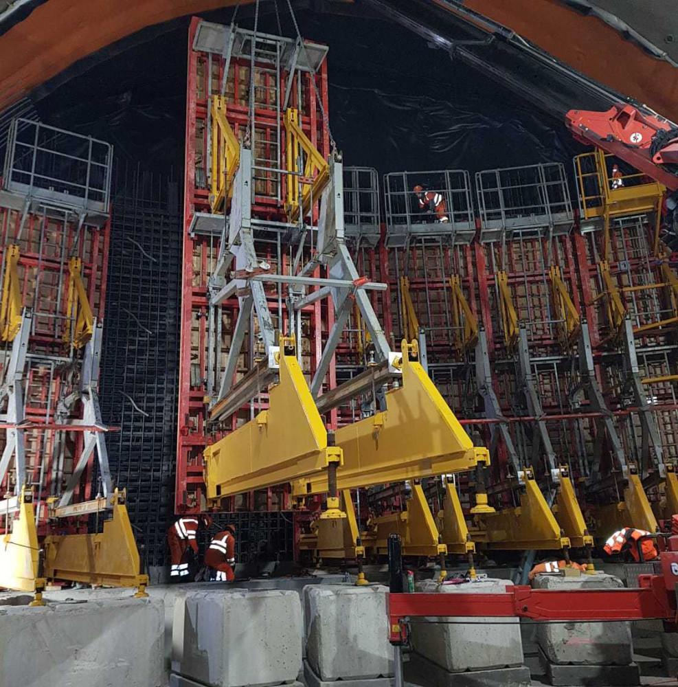 Construction Chantier CERN Sateco