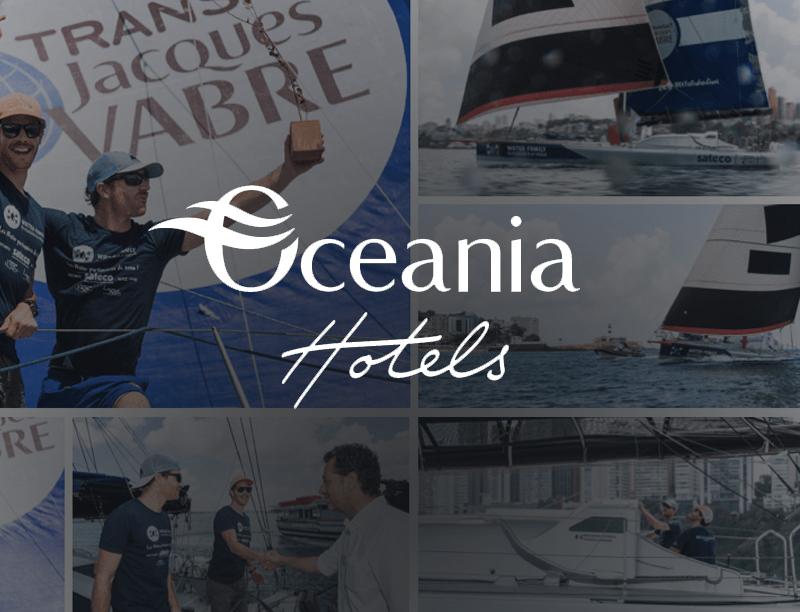 Océania Hôtels est le nouveau sponsor pour le skipper Benjamin Dutreux aux côtés de Sateco